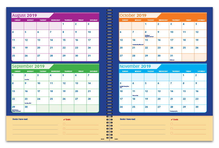 Elementary Student Planners Elementary School Datebooks